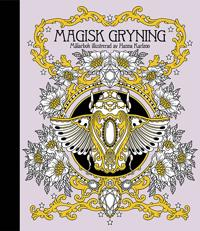 Magisk gryning   Målarbok