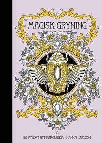 Magisk gryning   20 vykort att färglägga