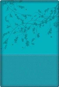Biblia de La Mujer Conforme Al Corazon de Dios: Duotono Aqua