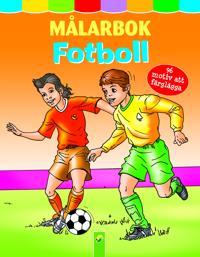 Målarbok fotboll