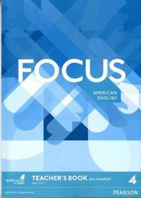 Focus AmE 4 Teacher's Book & MultiROM Pack