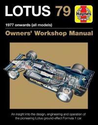 Haynes Lotus 79 Owners' Workshop Manual