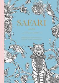 Safari : tavelbok - målarbok med 20 illustrationer att färglägga, riva ut och rama in