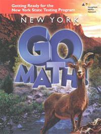 Go Math: Getting Ready for the NY CC Mathematics Test Blm Se Grade 6