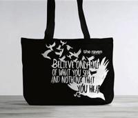 Raven Fashionable Tote Bag