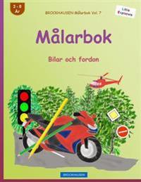 Brockhausen Malarbok Vol. 7 - Malarbok: Bilar Och Fordon