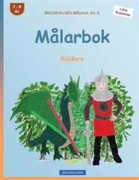 Brockhausen Målarbok Vol. 6 - Målarbok: Riddare