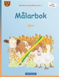 Brockhausen Malarbok Vol. 1 - Malarbok: Gard