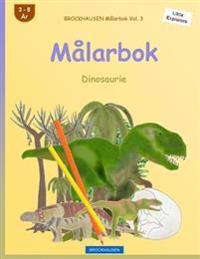 Brockhausen Malarbok Vol. 3 - Malarbok: Dinosaurie