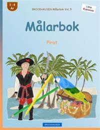 Brockhausen Målarbok Vol. 5 - Målarbok: Pirat