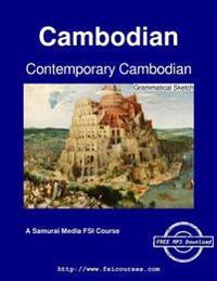 Contemporary Cambodian - Grammatical Sketch