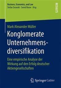 Konglomerate Unternehmensdiversifikation