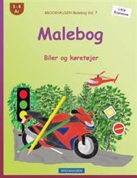 Brockhausen Malebog Vol. 7 - Malebog: Biler Og Køretøjer