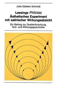 Lessings Philotas: Aesthetisches Experiment Mit Satirischer Wirkungsabsicht