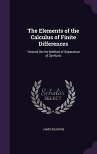 The Elements of the Calculus of Finite Differences