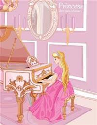 Princesa Libro Para Colorear 1