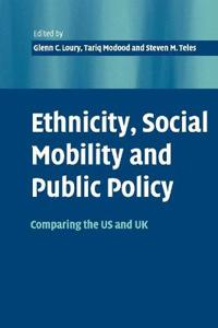 Ehnicity, Social Mobility and Public Policy