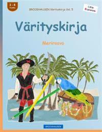 Brockhausen Värityskirja Vol. 5 - Värityskirja: Merirosvo