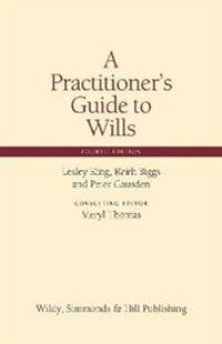 Practitioners guide to wills