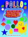 Lets Learn English with Pollo Basic Geometric Shapes for Dutch Speaking Children See Back Cover for Translation