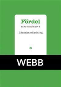 Fördel SVA för nyanlända åk 4-6 Lärarhandledning Webb