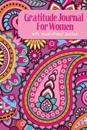 Gratitude Journal for Women with Inspirational Quotes: A 5-Minute Journal for the Busy Woman - Pink Paisley Abstract