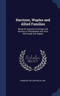 Harrison, Waples and Allied Families