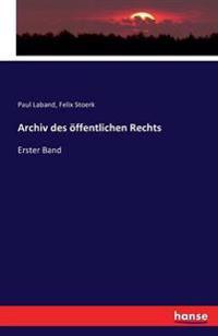 Archiv Des Offentlichen Rechts