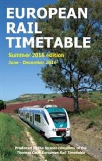 European Rail Timetable: Summer, 2016