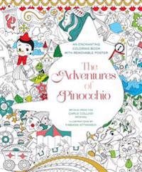 The Adventures of Pinocchio Coloring Book