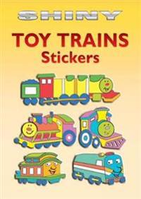 Shiny Toy Trains Stickers