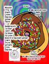 Malbuch Teig Donuts Lernen Englisch Sprache Farben + Raumkonzepte Zu Ende Unter Für Kinder Für Jeden Buch Ist in Englischer Sprache Lehrer Sollen Spre