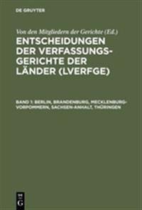 Berlin, Brandenburg, Mecklenburg-vorpommern, Sachsen-anhalt, Thüringen
