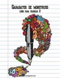 Garabatos de Monstruos Libro Para Colorear 2