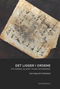 Det ligger i ordene - Åse Høyvoll Kallestad | Inprintwriters.org