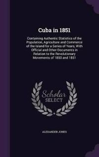Cuba in 1851