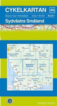 Cykelkartan Blad 7 Sydvästra Småland : 1:90000