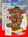 Learn English Coloring Book for Korean Language Speakers Pastry Donuts Learn Colors + Spatial Concepts Over Under for Children for Everyone Book Is in