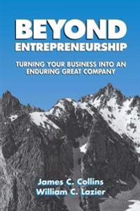 Beyond Entrepreneurship
