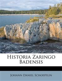 Historia Zaringo Badensis