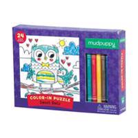 Sweet Owls Color-In Puzzle