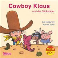 Maxi-Pixi Nr. 220: VE 5 Cowboy Klaus und der stinkende Stiefel