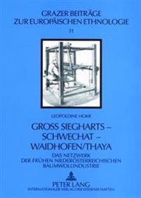 Groß Siegharts - Schwechat - Waidhofen/Thaya: Das Netzwerk Der Fruehen Niederoesterreichischen Baumwollindustrie
