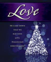 Love Tree Advent Bulletin, Large (Pkg of 50)