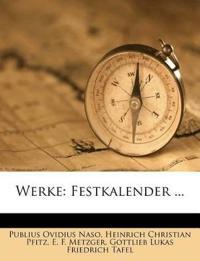 Werke: Festkalender ...