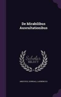 de Mirabilibus Auscultationibus