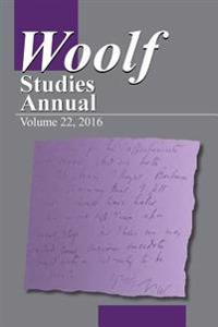 Woolf Studies Annual V. 22