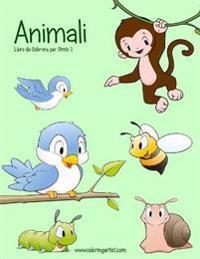 Animali Libro Da Colorare Per Bimbi 1