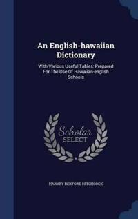 An English-Hawaiian Dictionary