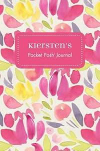Kiersten's Pocket Posh Journal, Tulip